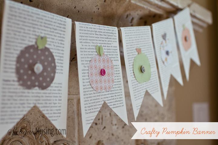 MeaganMusing: Crafty Pumpkin Banner