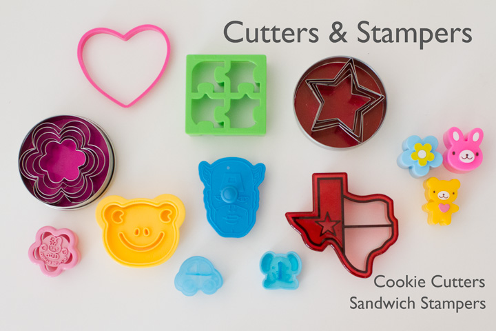 Cutters and Stamps for Lunches