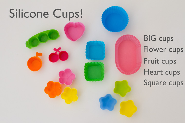 Silicone Cups for Bentos