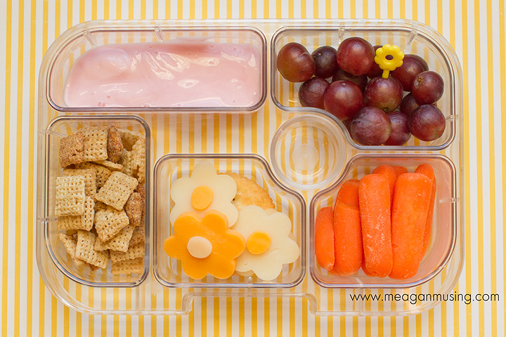 Flower Bento in a Yumbox