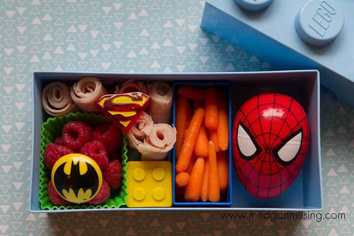 Simple Bento Lunches // Lego Box Bento