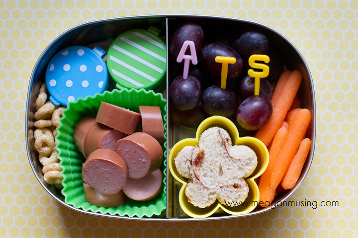 Simple Bento Lunches // Personalized