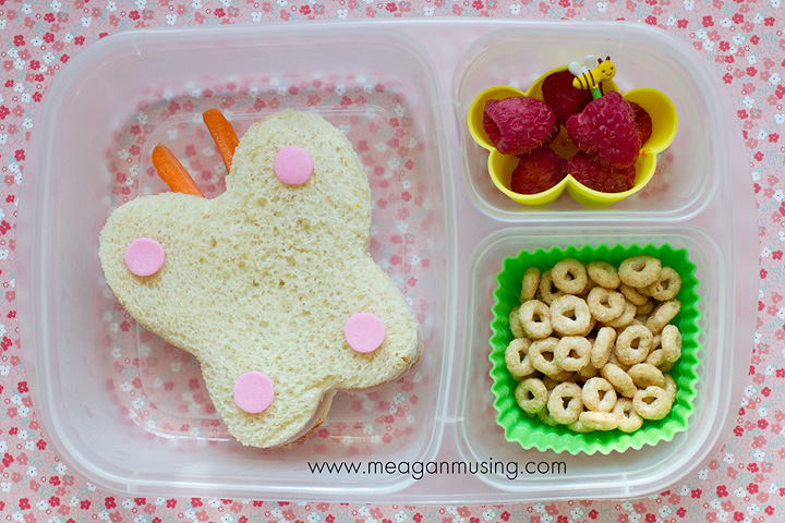 Simple Bentos // Butterfly in an #EasyLunchbox