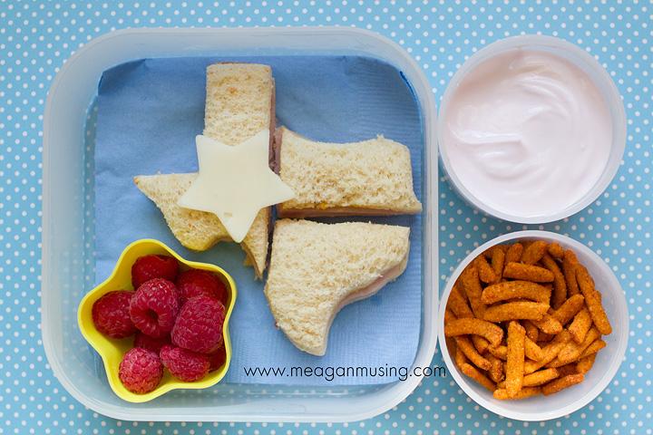 Simple Bentos // Texas Pride