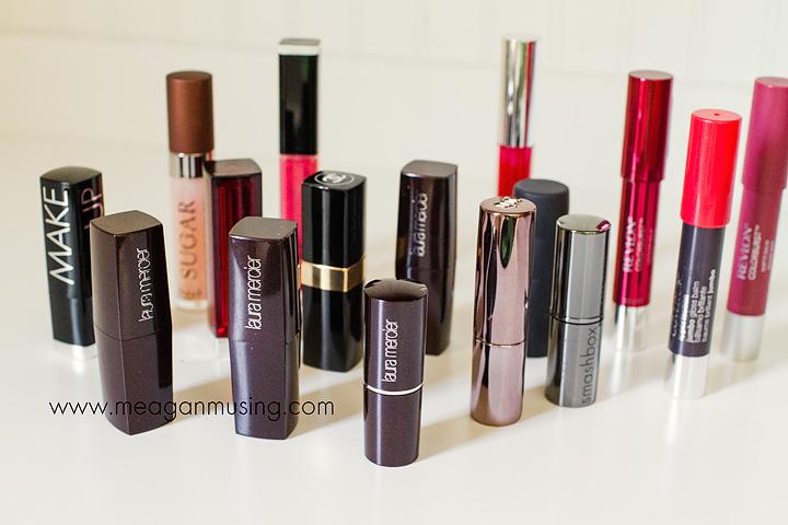 Lipstick Hoarding
