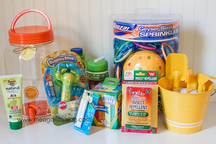 Kids Essentials Summertime Prize Pack