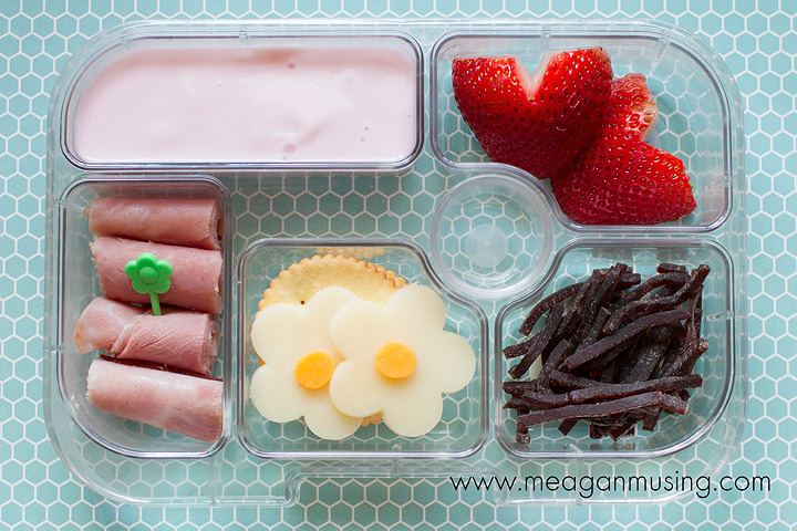 Simple Bentos // #Yumbox Flowers